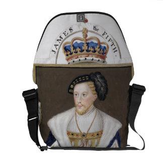 Retrato de 1512-42) reyes de James V (de Escocia p Bolsas De Mensajería