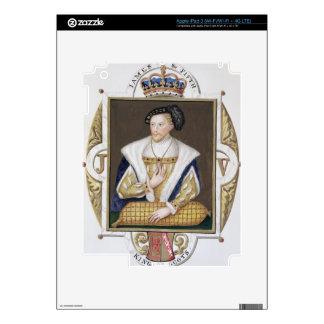 Retrato de 1512-42) reyes de James V (de Escocia p Pegatina Skin Para iPad 3