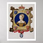 Retrato de 1512-48) 6tas reinas de Catherine Parr  Posters