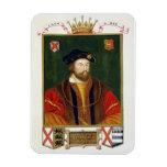 Retrato de 1513-37) señores Offal de Thomas Fitzge Imanes Rectangulares