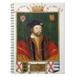 Retrato de 1513-37) señores Offal de Thomas Fitzge Libros De Apuntes