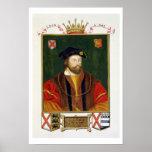 Retrato de 1513-37) señores Offal de Thomas Fitzge Impresiones