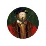 Retrato de 1513-37) señores Offal de Thomas Fitzge Relojes De Pared