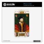 Retrato de 1513-37) señores Offal de Thomas Fitzge Calcomanía Para El iPhone 4S