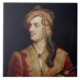 Retrato de 1788-1824) 6tos barones By de George Go Azulejo Cuadrado Grande