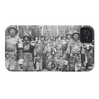 Retrato (de 1835-1908) viudas de emperatriz carcasa para iPhone 4