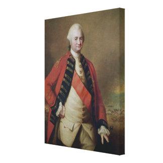 Retrato de 1r barón Clive, 1773 de Roberto Clive Lona Estirada Galerías