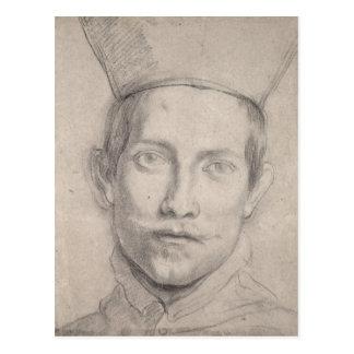 Retrato de 2 cardinales postales