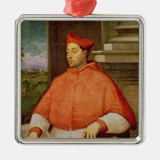 Retrato de A. cardinal Pallavicini, 1512 Ornamento De Navidad