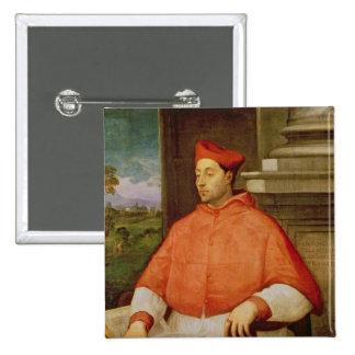 Retrato de A. cardinal Pallavicini, 1512 Pin Cuadrada 5 Cm