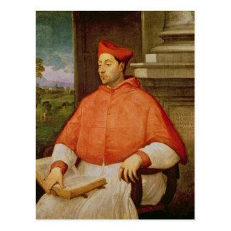 Retrato de A. cardinal Pallavicini, 1512 Postal