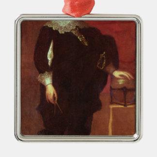 Retrato de Abel Janszoon Tasman Ornamento Para Arbol De Navidad