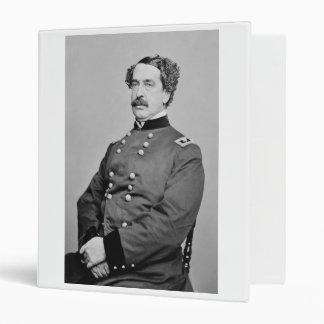 "Retrato de Abner Doubleday de Mathew B. Brady Carpeta 1"""