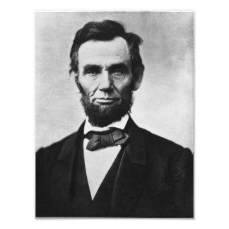 Retrato de Abraham Lincoln Cojinete
