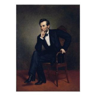 Retrato de Abraham Lincoln de George Healy Fotografía
