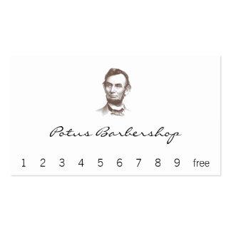 Retrato de Abraham Lincoln del vintage Tarjetas De Visita