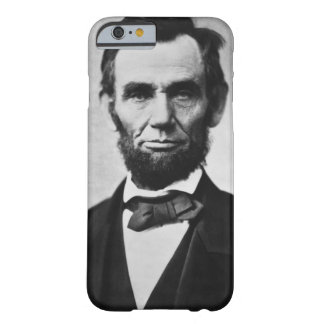 Retrato de Abraham Lincoln Funda De iPhone 6 Barely There