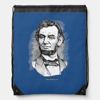 Retrato de Abraham Lincoln Mochilas