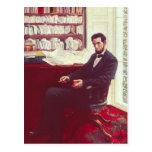 Retrato de Abraham Lincoln Postal
