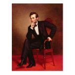 Retrato de Abraham Lincoln Tarjetas Postales