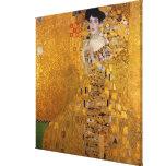Retrato de Adela Bloch-Bauer de Gustavo Klimt 1907 Impresión En Lona