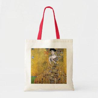 Retrato de Adela Bloch-Bauer de Gustavo Klimt Bolsa Tela Barata