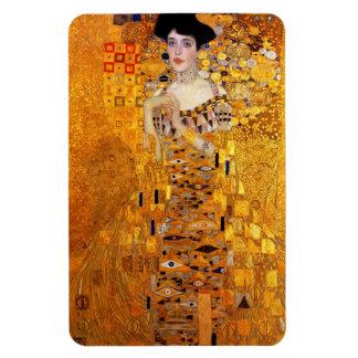 Retrato de Adela Bloch-Bauer de Gustavo Klimt Imán De Vinilo