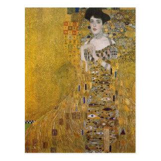 Retrato de Adela Bloch-Bauer de Gustavo Klimt Postales