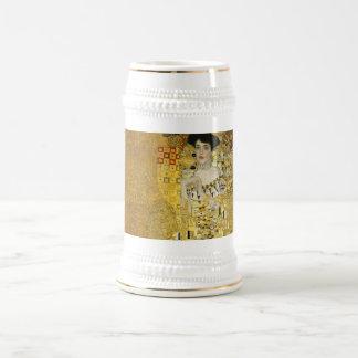 Retrato de Adela Bloch-Bauer I - Gustavo Klimt Jarra De Cerveza