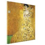 Retrato de Adela Bloch-Bauer I - Gustavo Klimt Impresión En Lienzo Estirada
