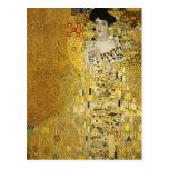 Retrato de Adela Bloch-Bauer I - Gustavo Klimt Tarjetas Postales