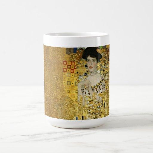 Retrato de Adela Bloch-Bauer I - Gustavo Klimt Tazas