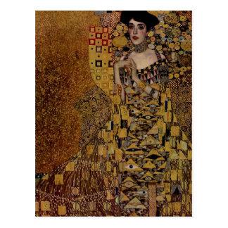 Retrato de Adela Bloch-Bauer I Tarjeta Postal