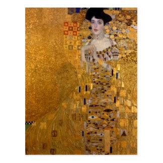 Retrato de Adela Bloch-Bauer por Klimt Postales
