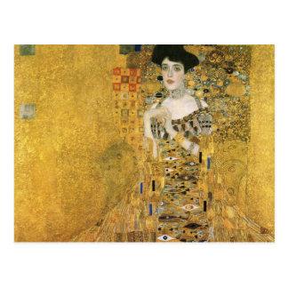 Retrato de Adela Bloch-Bauer Postal