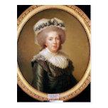 Retrato de Adelaide de Francia 1791 Tarjetas Postales