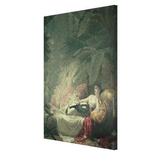 Retrato de Adelaide Maria, condesa de Iveagh Lona Envuelta Para Galerias