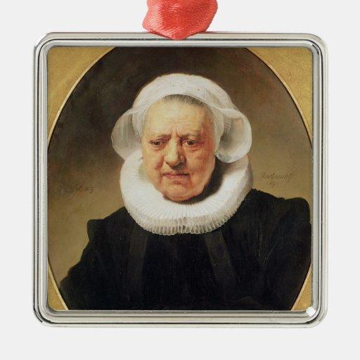 Retrato de Aechje Claesdar, 1634 Adorno De Navidad