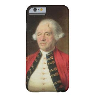 Retrato de Agustín Prevost (1723-86) en uniforme Funda De iPhone 6 Barely There
