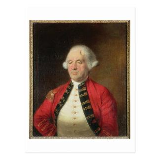 Retrato de Agustín Prevost (1723-86) en uniforme Tarjeta Postal