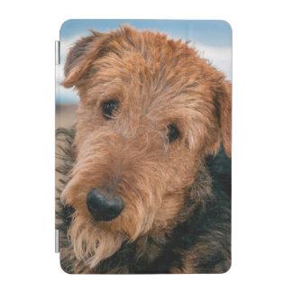 Retrato de Airedale Terrier 2 Cubierta De iPad Mini