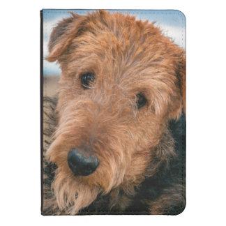 Retrato de Airedale Terrier 2 Funda De Kindle Touch