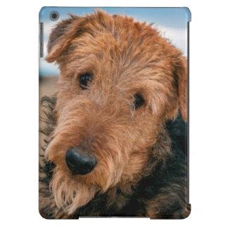 Retrato de Airedale Terrier 2 Funda Para iPad Air