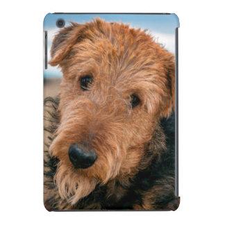 Retrato de Airedale Terrier 2 Fundas De iPad Mini Retina