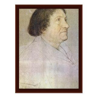 Retrato de alcalde Of Basilea de Jacobo Meyer Zum  Tarjeta Postal