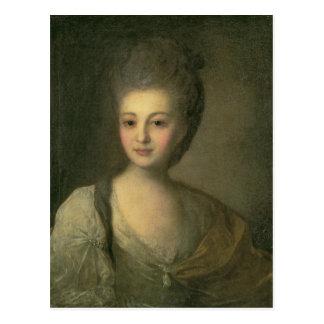 Retrato de Alejandra P. Struyskaya 1772 Tarjetas Postales