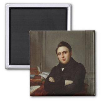 Retrato de Alejandro Auguste Ledru-Rollin Imán Cuadrado