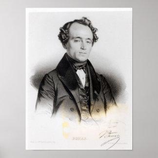 Retrato de Alejandro Dumas Fils Impresiones