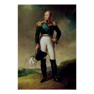 Retrato de Alejandro I 1814 Impresiones