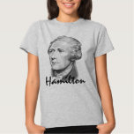 Retrato de Alexander Hamilton Playeras